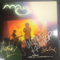 MC5-Starship - Live June 1968- AUTOGRAPHED BY JOHN SINCLAIR, WAYNE KRAMER, AND MICHAEL DAVIS!!