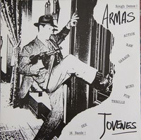 ARMAS JOVENES  - V/A  (14 bands, rare 90s Spanish garage)LAST COPIES   COMP LP