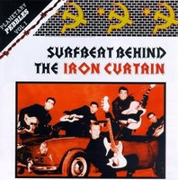 PLANETARY PEBBLES  VOL 1 - Surfbeat  Behind the Iron Curtain-SEALED LAST COPIES -  COMP LP