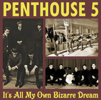 """PENTHOUSE 5 - IT'S ALL MY OWN BIZARRE DREAM + 7""""(rare mid sixties TEXAS garage psych) LP"""