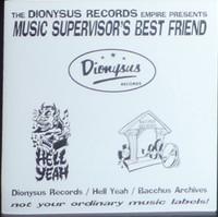 MUSIC SUPERVISOR'S BEST FRIEND   - VA  1998  COMP CD