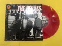 NERVES - One Way Ticket (70S POWERPOP LEGENDS!) CLEAR RED VINYL-   LP