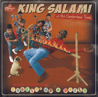 KING SALAMI & THE CUMBERLAND THREE - COOKIN' UP A PARTY -BENT TRAY CARD BARGAIN CD