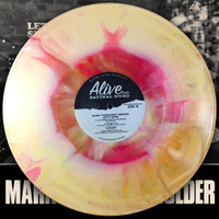 MARK PORKCHOP HOLDER - Let It Slide (Black Diamond Heavies, GREAT PUNK ROCK BLUES)  STARBURST LP