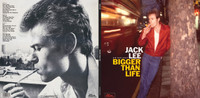 LEE,JACK (NERVES, 70s POWERPOP ) BIGGER THAN LIFE -ANTHOLOGY- AUTOGRAPHED STARBURST GATEFOLD DBL LP