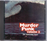 MURDER PUNK  -Vol 2  (Rare Aussie 70s punk)  COMP CD