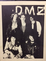 DMZ  - FLIER FROM  70s PROMO PACKAGE - ORIGINAL XEROX 9x12
