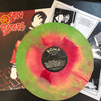 BATORS, STIV (DEAD BOYS)- Disconnected  LTD ED. STARBURST VINYL  with cool printed inner sleeve! (powerpop )