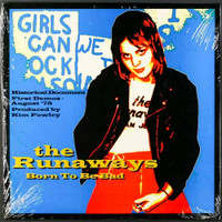 "RUNAWAYS, THE  -Born to be Bad (demos)10"" WAREHOUSE FIND OF  OUT OF PRINT TITLE!"