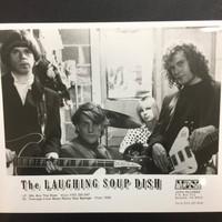 LAUGHING SOUP DISH  - ORIGINAL GLOSSY PROMO PHOTO  80'S