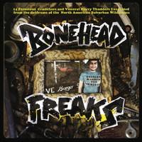 BONEHEAD FREAKS  - VA 14 FEROCIOUS CRUNCHERS -Heavy psych !  COMP LP