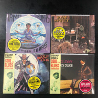 4  CD BUNDLE  (DELETED 70s SOUL CLASSICS FROM THE Swamp DOGG SERIES) CHARLIE WHITEHEAD, WOLFMOON, IRMA THOMAS & DORIS DUKE !