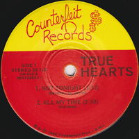 TRUE HEARTS -NOT TONIGHT (4 SONG EP -FORMER JUST BOYS 1980 ORIGINAL PRESSING RASPBERRIES STYLE POWER POP)  33 RPM
