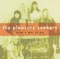 PLEASURE SEEKERS  - What a Way To Die w the Quatro Sisters (1965 GIRL GARAGE GEM )45 RPM