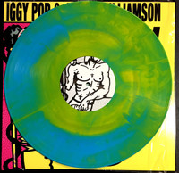 IGGY POP  & WILLIAMSON, JAMES  - Kill City   BOMP VERSION LTD ED  HAND MIXED STARBURST VINYL  FINAL PRESSING!