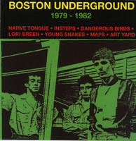 BOSTON UNDERGROUND   VA  79 -82 - 4-page booklet, lots of nice photos! -COMP CD