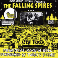 TEEN TRASH VOL.10  - Falling Spikes (60s style garage) CD