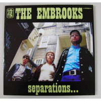 EMBROOKS   - Separations (60S INSPIRED FREAKBEAT) LAST COPIES!   CD
