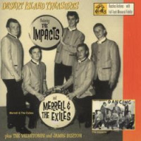 DESERT ISLAND TREASURES w. IMPACTS/MERRELL & THE EXILES   VA (Unreleased 60s tracks) LAST COPIES!  COMP CD