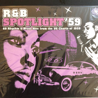 R&B SPOTLIGHT #59  -R&B and/or pop hits of 1959- DOUBLE COMP CD