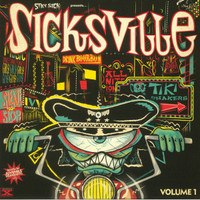 "SICKSVILLE  VOL. 1 (tittyshakers to whip, whop, wobble and grind to) 10""COMP LP"