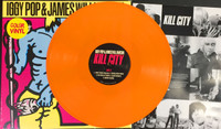 IGGY POP   Kill City- 180 GRAM ORANGE  VINYL LTD ED OF 150!   WITH INNER SLEEVE.