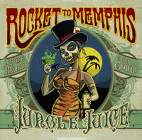 ROCKET TO MEMPHIS  -JUNGLE JUICE- (Female fronted rockabilly ) IMPORT  CD