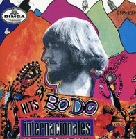 BODO MOLITOR  - Hits Internacionales  (ultra-rare  60s Mexican psych holy grail for collectors  -paper-sleeve mini-LP replica.) CD
