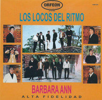 LOS LOCOS DEL RITMO  - Barbara Ann- RARE MEXICAN 1966 MINI LP SLV   CD