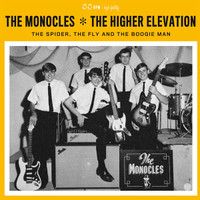MONOCLES/HIGHER ELEVATION  -SALE!  The Spider, The Fly & The Boogie Man (rare 60s psych PEBBLES stars W INSERT ACID ARCHIVES FAVE!) LP
