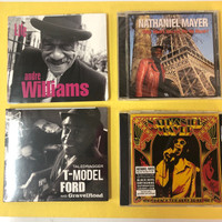 4 CDs for $10! DELETED SOUL CLASSICS  W. T MODEL FORD, ANDRE WILLIAMS, NATHANIEL MAYER  & THE BLACK KEYS-