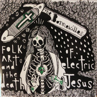 BONNEVILLES  - FOLK ART AND THE DEATH OF ELECTRIC JESUS ..BLACK/GREEN SPLATTER VINYL  LP