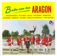ARAGON  -BAILE CON LOS (Latin, R&B and classic 50s-style rock 'n' roll) RARE MEXICAN  MINI LP SLV  CD