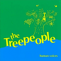TREE PEOPLE -Human Voices   SALE! (late '70s Oregon hippie folk band)  LP