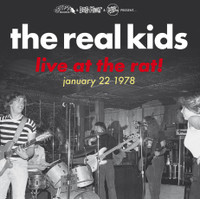 REAL KIDS  -LIVE AT THE RAT! JANUARY 22 1978- GATEFOLD LP W INNER SLEEVE
