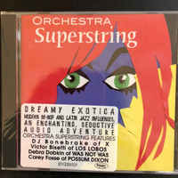 ORCHESTRA SUPERSTRING - Dreamy Exotica with DJ BONEBRAKE -   COMP CD