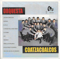 ORQUESTA  -Coatzacoalcos  (RARE 1965 big mambo sound) ONE ONLY -RARE MEXICAN MINI LP SLV  CD