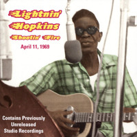 LIGHTNIN' HOPKINS   -Shootin' Fire (1969 recordings) CD