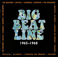 BIG BEAT LINE 1965-1968 (awesome DBL CD of rare  Czech bands) DBL  CD