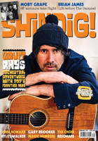 SHINDIG! #79  Gruff Rhys , CHOIR, MOBY GRAPE -BOOKS & MAGS