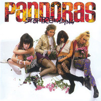 PANDORAS - STOP PRETENDING w 10 BONUS TRACKS (1986 GIRL GARAGE GODESSES -CD