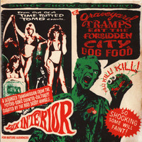 "GRAVEYARD TRAMPS EAT THE FORBIDDEN CITY DOGFOOD  Vol.1  (obscure rockabilly, surf and R&B tracks from Lux Interior)DBL 10""  COMP LP"