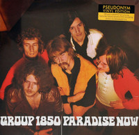 GROUP 1850  -PARADISE NOW (1969 psych legends)RED VINYL LP