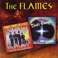 FLAMES  -Ummm! Oh Yeah + That's Enough (Rare 60s psychedelic soul)  DBL CD