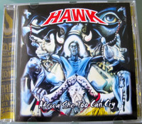 HAWK  - She Too Can Cry  (1974  African psych gem) CD