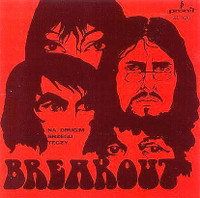 BREAKOUT   -NA DRUGIM BRZEGU TECZY(1969Polish psych-blues legends)-  CD