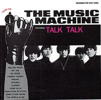 MUSIC MACHINE  - Turn On w. Talk Talk   CD