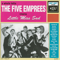 FIVE EMPREES  - Little Miss Sad (1965) CD