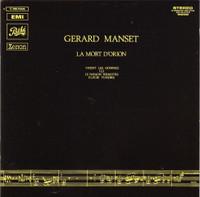 MANSET, GERARD    -La Mort D'Orion (1970 French rebel) CD