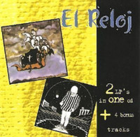 EL RELOJ  - 2 LPs on ONE CD plus bonus tracks  (70s  Argentina premiere hard rock )  CD